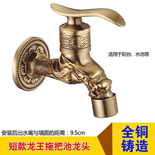 Grifo de lavabo grifo de lavabo Antigua lavadora europea grifo ...