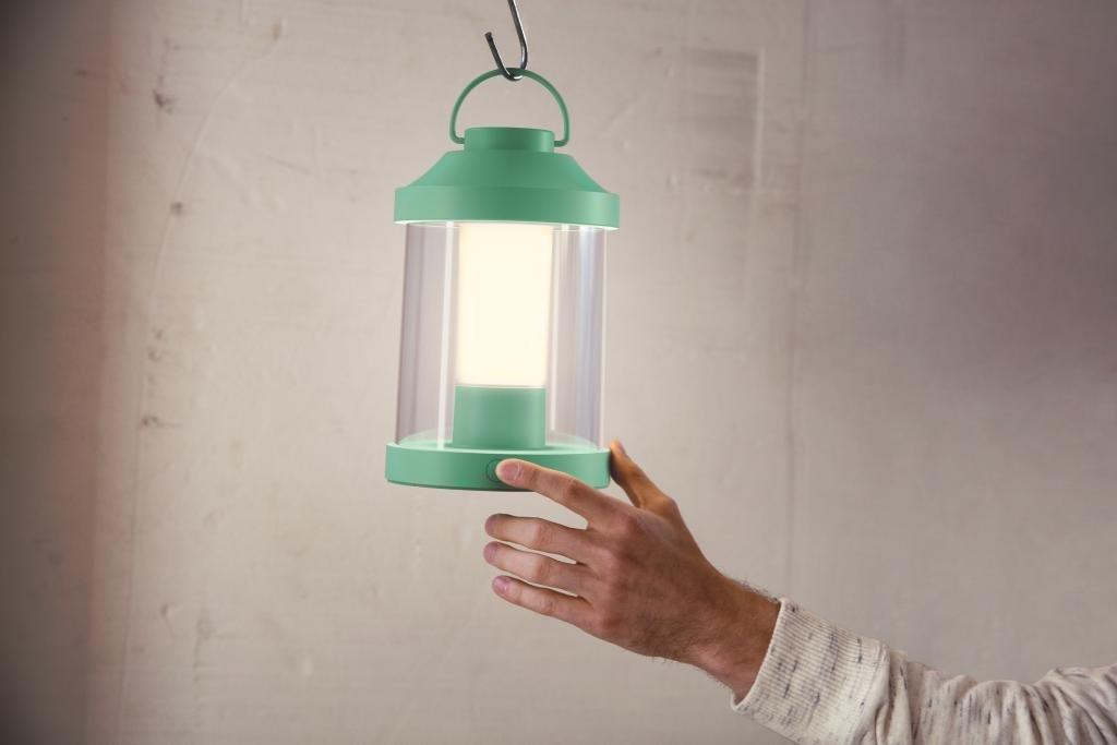 Philips myGarden, Abelia, lanterna LED portatile, Sintetico, Mint Green, 17 x 15 x 23 915005447001