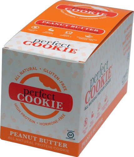 Boundless Nutrition Perfect Fit Protein Cookie, Gluten-Free, Peanut Butter, (Pack of 12)