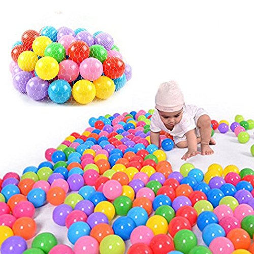 Real Relax 200pcs 5.5cm Colorful Ball Soft Plastic Ocean Ball for Baby Kid by Real Relax (Image #6)