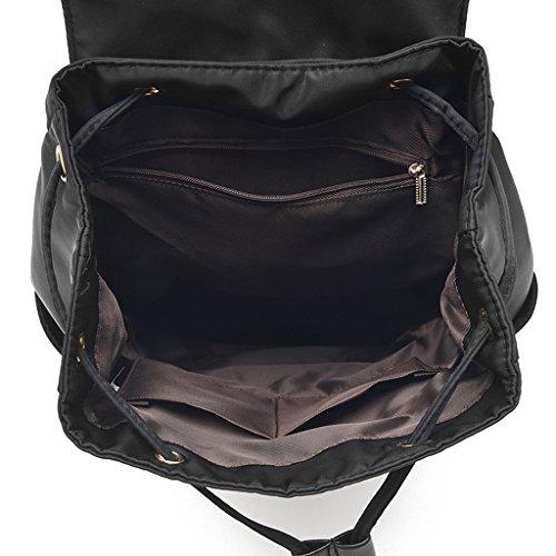 Backpack College Big Shoulder Wind Fabric Cloth Bag Xxpp Canvas Student School Bag Oxford IxqOFvA