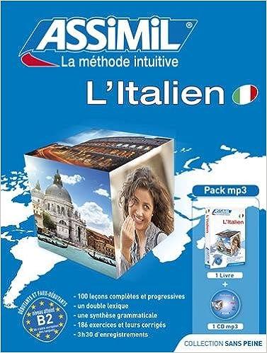 Amazon Com Assimil L Italien Sans Peine Livre 1 Mp3 Cd