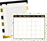Barker Creek - Office Products Gold Chart Set with 17 x 22'' Blank Calendar and Incentive Chart (LL-576) by Barker Creek - Office Products