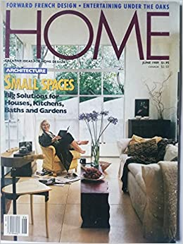 Home: Creative Ideas for Home Design, June 1989 - Small Spaces: Big ...