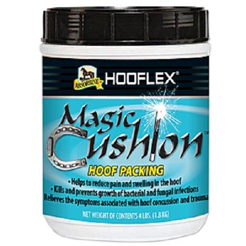 Absorbine 4 lb Hooflex Magic Cushion Hoof Packing to Reduce Pain and Swelling in the Hoof - Magic Cushion Horse
