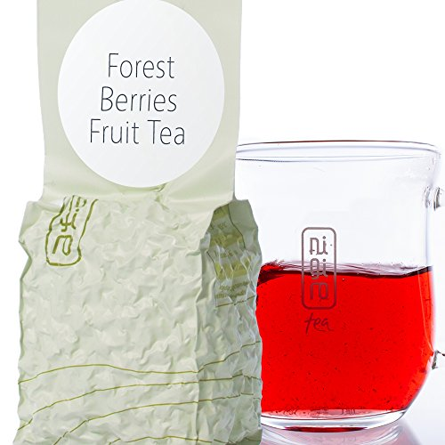 - Unique Blend of Hibiscus, Apple, Raspberry, Blackberry & Strawberry (40 cups/3.5oz) | Nigiro Forest Berries | Caffeine-Free
