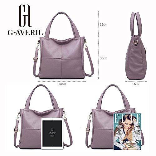 G-AVERIL - Bolso mochila  para mujer Rosa rosa morado