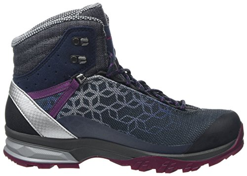 Lyxa Lowa Mid GTX 6951 Boots Women's Blue WS Hiking Rise High Navy Beer r5Fnrxqw