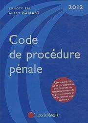 Code de procédure pénale 2012