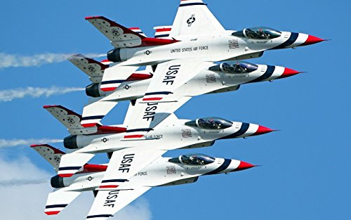 Military United States Air Force Thunderbirds - 24X36 Poster