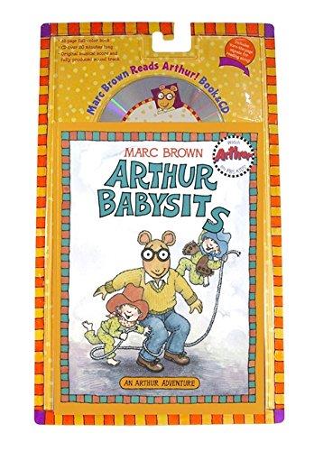 arthur babysits book cd arthur adventures marc brown 9780316036603 amazoncom books