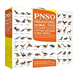 PNSO Prehistoric Animal Toys Gift Box Containing 48 Small Models