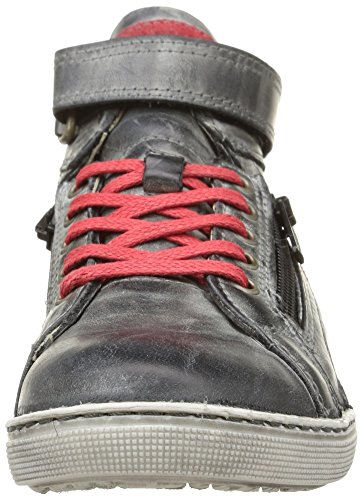 Little Mary Optimist Jungen Sneaker Schwarz (Noir (Cuir Noir))
