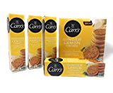 Carr's Ginger Lemon Creme, 7.05-Ounce Boxes (Pack of 12)