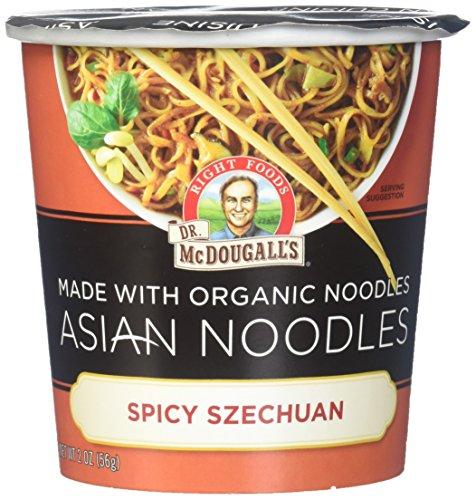 - Dr. McDougall's Asian Entree, Spicy Szechuan Noodle- 2 oz, 6 pk