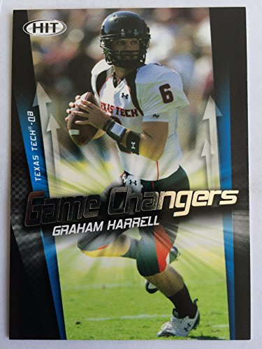 2009-sage-hit-game-changers-gc-4-graham-harrell-nm-m-near-mint-mint