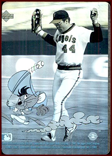 Reggie Jackson Hof 1991 Upper Deck Comic Ball Looney Tunes Speedy
