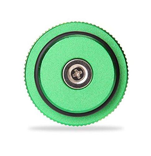 2013-2017 Billet Aluminum Green Fuel Cap for Dodge Ram Cummins with Magnetic Auto Parts