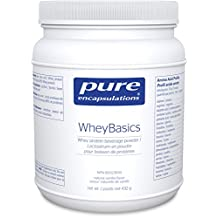 Pure Encapsulations - WheyBasics - Whey Protein Beverage Powder to Support Nutritional Health and Immune Function* - Natural Vanilla Flavor - 432 Grams