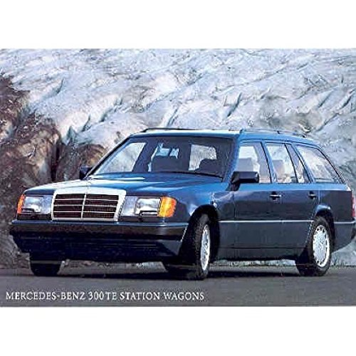 - 1987 Mercedes Benz 300TE Station Wagon Postcard