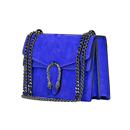 Grande myitalianbag 71045 Blu Damestas Cobalto Leather I0ISq