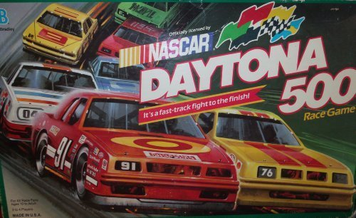 NASCAR Daytona 500 Race Game (1990 Board Game) by Board Games - Assorted Milton Bradley