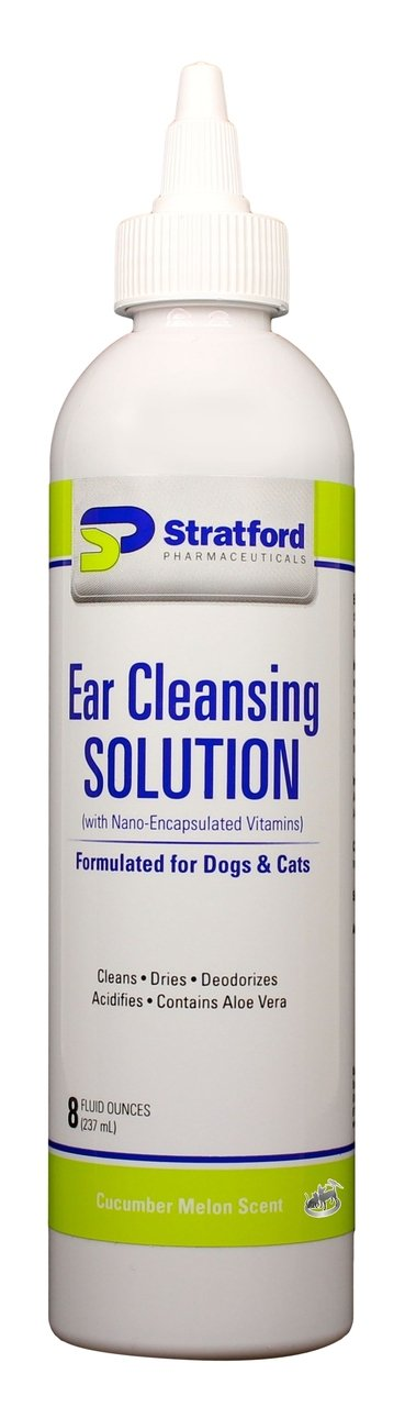 Ear Cleansing Solution for Dogs & Cats [Cucumber Melon scent] (8 oz) Foreo Luna mini 2, Pearl Pink