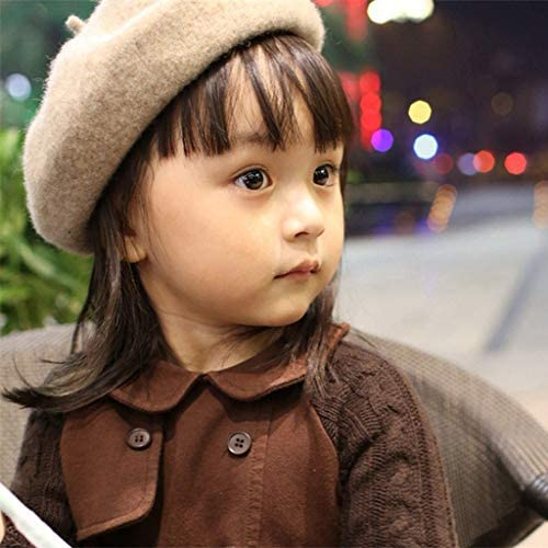 Blue XGao Beret for Kids Cute Kids Hat Dome Beret Artist Dome Beret Cap Headwear French Style Costume