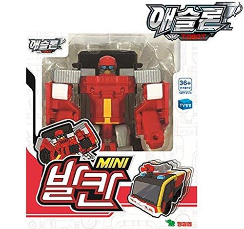 YOUNG TOYS Tobot Athlon vulcanmini Toy Robot Transforming Ro