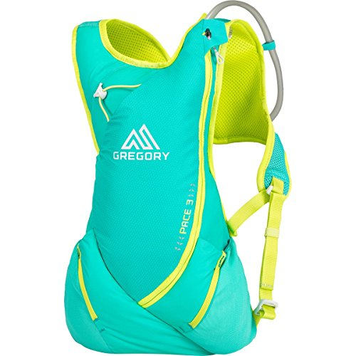 Gregory Pace 3 Hydration Packs, Aero Turquoise, Small/Med