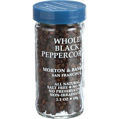 Morton & Bassett Whole Black Pepper (3x2.1Oz)