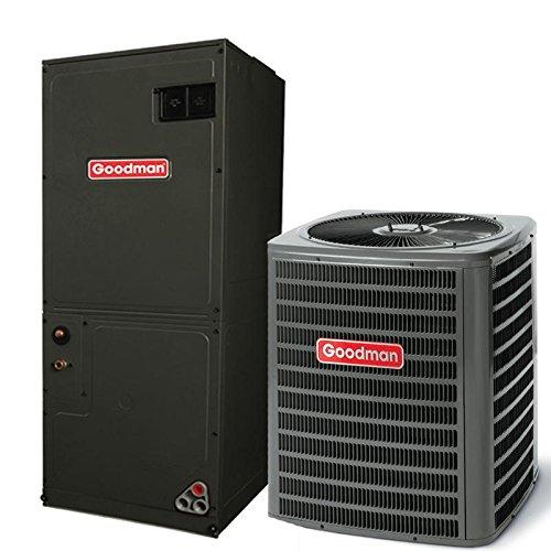 Goodman 2 Ton 14 Seer Heat Pump Split System GSZ14024 ARUF25B14 (Heat Seer 14 Ton Pump)