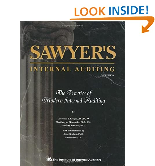Internal auditing amazon sawyers internal auditing the practice of modern internal auditing fandeluxe Gallery