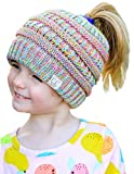 BT2-3847-816.41 Four Color Children's Beanie Tails: Rainbow #11