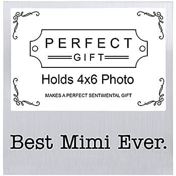 Amazon.com - Mimi I Love You Keepsake Picture Frame or Thumbprint ...