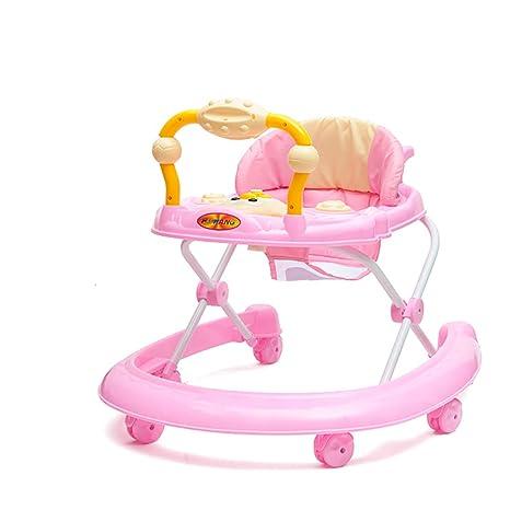 GUO@ Andador antivuelco para bebés 6/7-18 meses Unisex-baby ...