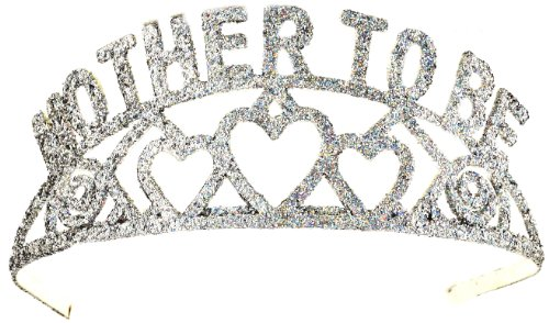 Forum Novelties Glitter Tiara (Mother to Be)
