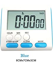 kingpo Cuenta el Reloj de Alarma de Bajada para cocinar. Temporizador Digital LCD. Temporizador