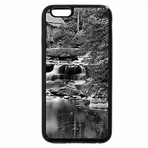 iPhone 6S Case, iPhone 6 Case (Black & White) - river