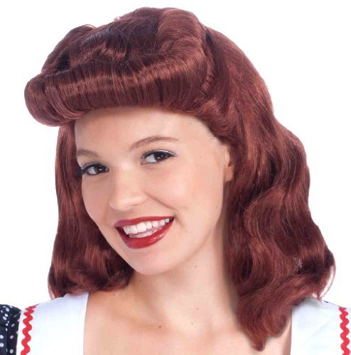 40s Lady Wig Costume -