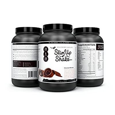 Meal Replacement Shake by Slimup - Chocolate Flavoured Whey Protein Powder [30 Servings]