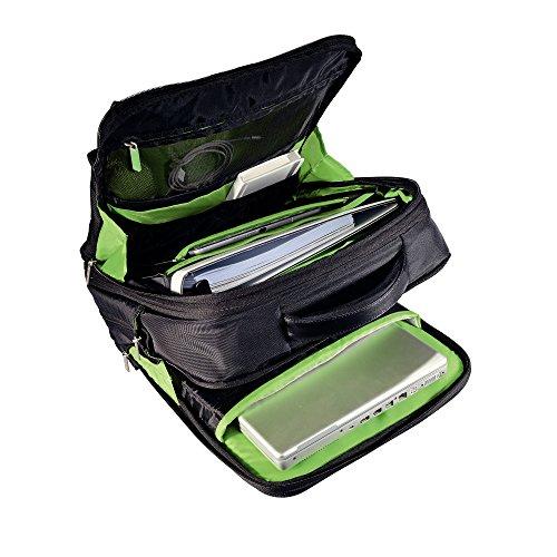 """Leitz Smart Traveller - Mochila ligera y expansible para portátil de 15.6"""", color negro"""