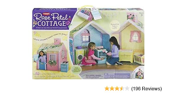 Amazon Hasbro Playskool Dream Town Rose Petal Cottage Toys Games