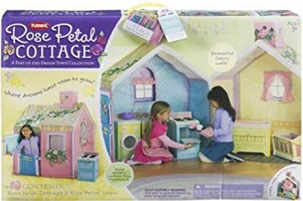 Hasbro Playskool Dream Town Rose Petal Cottage & Amazon.com: Hasbro Playskool Dream Town Rose Petal Cottage: Toys ...