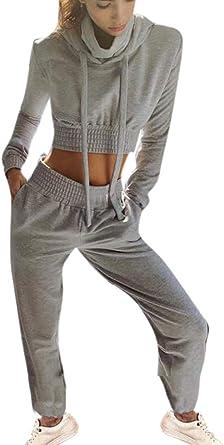 Conjunto de chándal de 2 Piezas Loungewear para Mujer Ropa ...