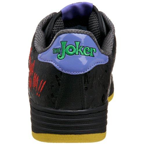 Begränsade Sulor Mens Joker Domstol Sneaker Svart / Grå / Gul