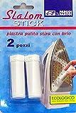 Parodi & Parodi Stiro Slalom 2 Stick, Plastica, Bianco, 11x17x3 cm