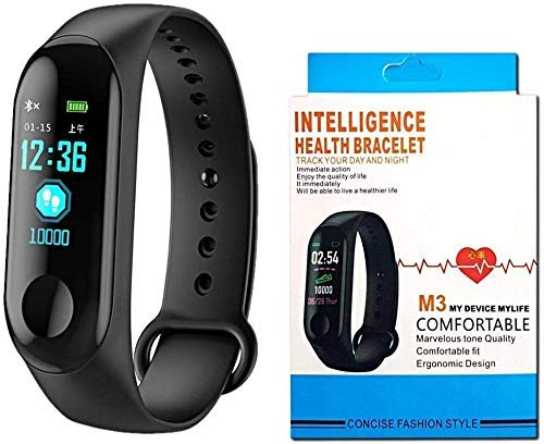 Ardilla M3 Intelligence Bluetooth Smart Watch/Smart Bracelet/Health Band/Activity Tracker/Bracelet/Fitness Band/M3 Band/with Heart Rate Sensor Function with Bluetooth Price & Reviews