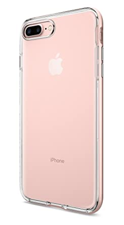 iphone 7 plus rose gold. iphone 7 plus case, spigen neo hybrid crystal case for rose gold iphone