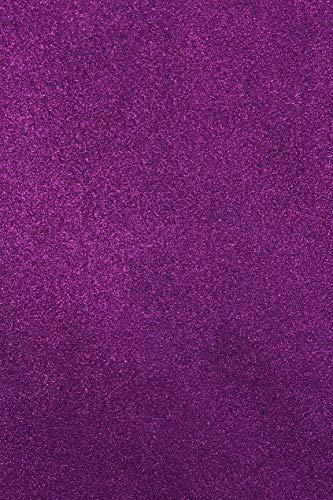 Allgala 12 Pack Glitter EVA Foam Paper 8 x 12inch Sheets-Purple-CF85006